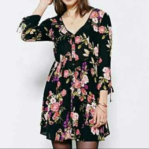 Urban Outfitters Ecoté Floral Dress